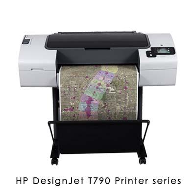 HP DesignJet T790 Printer series ePrint 雲端入門機種工程繪圖機