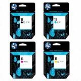 HP DJ 500/500 Plus/500PS 繪圖機適用原廠墨水匣&噴頭/列印頭