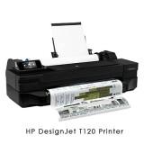 HP Designjet T120 24-in ePrinter (CQ891A)工程用大尺寸噴墨繪圖機